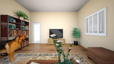 Living Room RA Back wall - Living room  - by 54rr