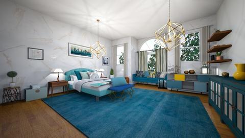 Habitacion turquesa - Bedroom - by Natibenitez