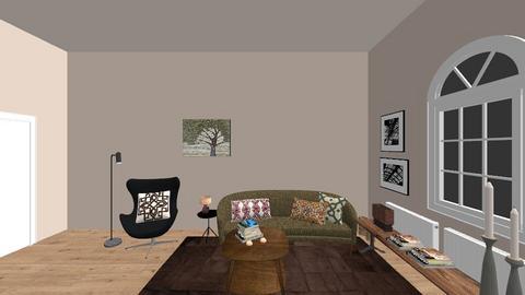 Monis Living Room 1 - Retro - Living room  - by LaCoune