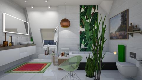 Attic Bath - Modern - Bathroom - by janip