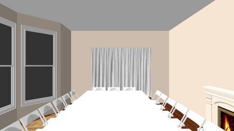 Wedding Room Dinner - Glamour - by nectaranne