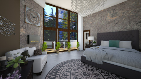 master bedroom - Bedroom - by AndreaMTorres1