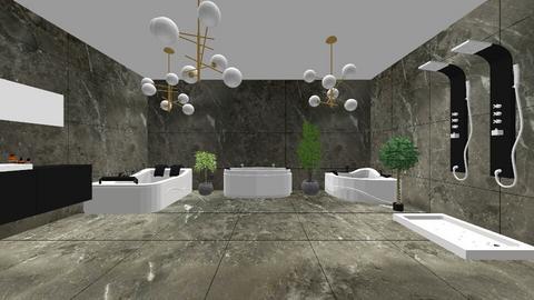 spa - Bathroom  - by hannapanna12345