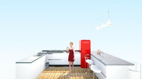 drfadli design - Minimal - Kitchen  - by fadli saldi