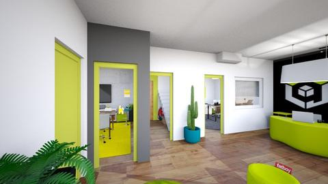 open doors - Kitchen - by APEXDESIGN