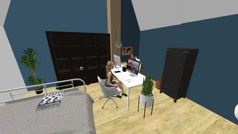 Bed office - Vintage - Office  - by marjonhulsink