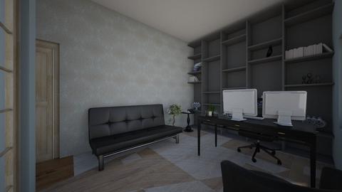 Basement Office  - Office  - by towanda1n37