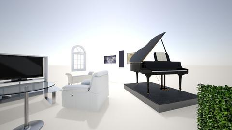 my dream piano room - Vintage - Office  - by horselover3000