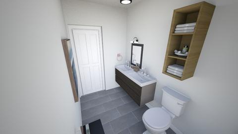 Master Bathroom - Bathroom  - by icarus233