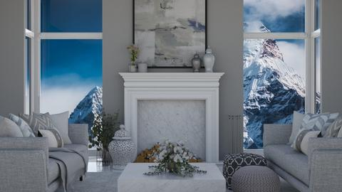 Touch of Grey - Classic - Living room  - by Katjie