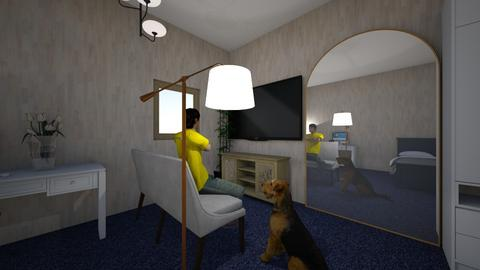 willy - Modern - Bedroom  - by saib21