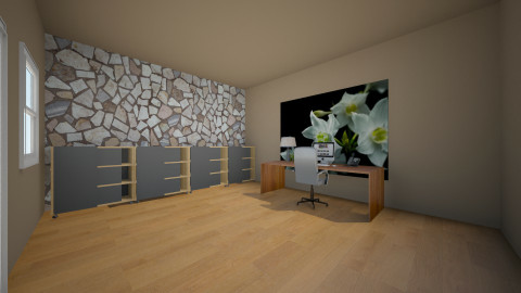 home office - Country - Office  - by LTooth
