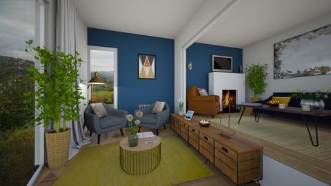 CP Living Rm Split Level - Living room  - by richgbdesign