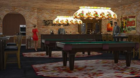 Snooker Pub - Rustic - by millerfam