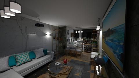 House cinema and bar HG - Glamour - by Hansel94