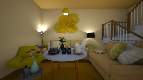Yellow - Living room  - by tathianhduong2009