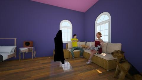 yay - Retro - Bedroom  - by Caitlyn Sloan