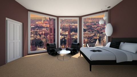 Bedroom by Uroosa - Country - Living room  - by Uroosa Bint E Haroon