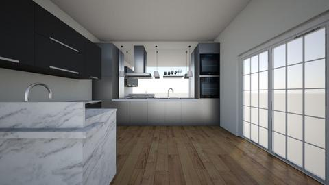 kitchen layout - Modern - Kitchen - by cdiego90