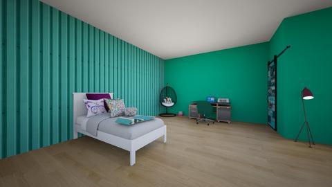 Quarto da Lara - Modern - Bedroom - by Lara Giulia