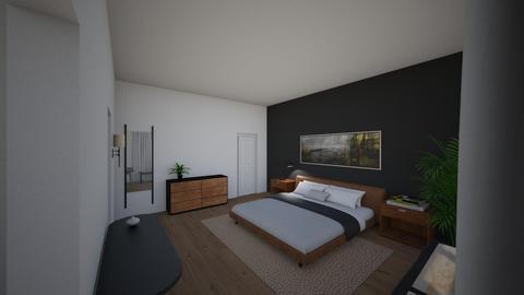 Master - Modern - Bedroom  - by tiffanypham29