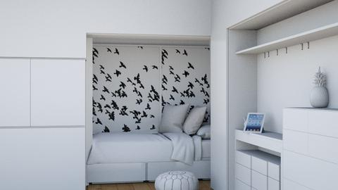 White kids room - Modern - Kids room  - by Magdaaa175