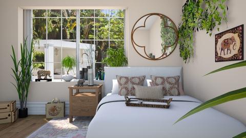 Indoor Plant Bedroom - Bedroom  - by Tzed Design