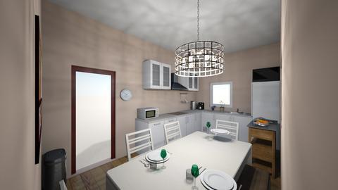 1 - Modern - Kitchen - by Lissi17