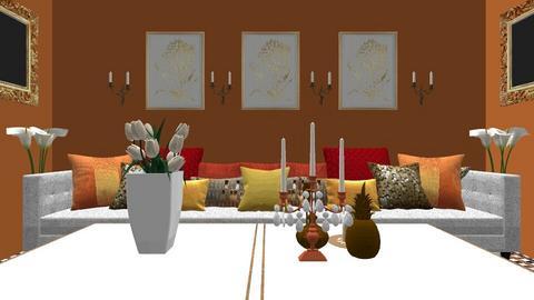 India Living 1 - Global - Living room  - by decordiva1