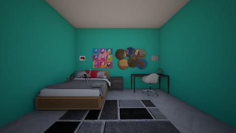 OOF redesigned - Bedroom - by MissBear711