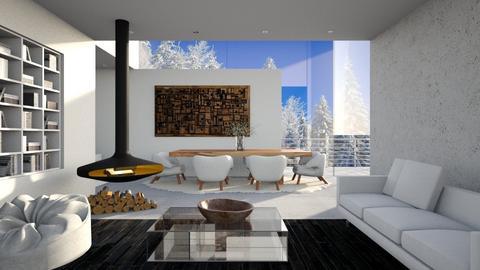 Winter Villa - Modern - Living room  - by finearch