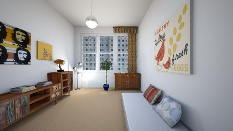 Old time - Retro - Bedroom  - by Twerka