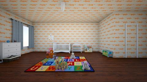 Baby Boy Nursery - Classic - Kids room  - by Cierra Royale