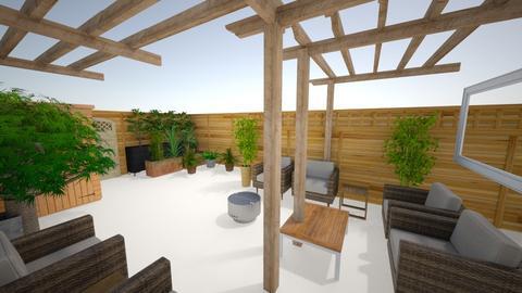patio  2am - Garden  - by adamwilson1234