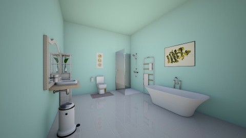 girl bathroom - Classic - Bathroom  - by Madelyn Kitteridge