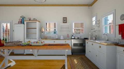 54 - Country - Kitchen  - by GALE88