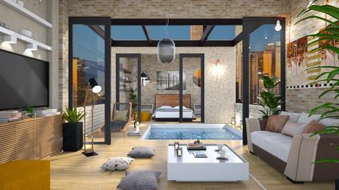 rooftop living - by psari