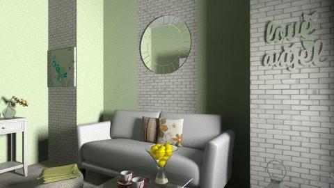 living green - Living room  - by Damira Beslagic