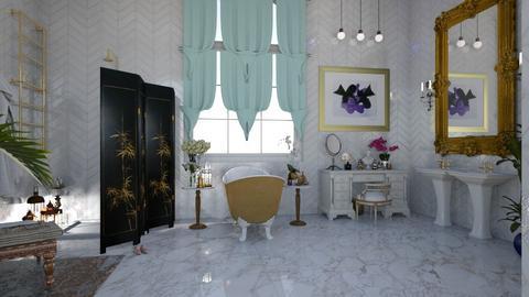 bohemian bath - by sephara