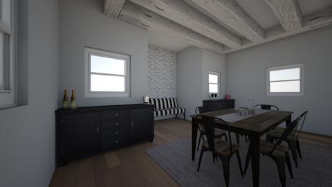 Rustic Dinning Room - by averysophia18