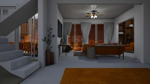 WAO Apartment 2 - Living room  - by RaeCam