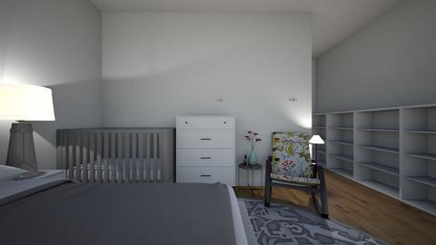 sypialnia - by aniakolodziejczyk