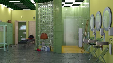 Changing room - Bathroom  - by nat mi