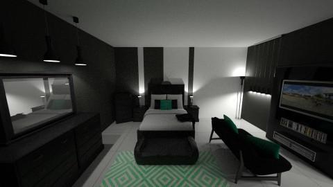 CLASSY MONO - Minimal - Bedroom - by DMLights-user-1593471