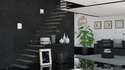 M_Impressive Staircase - Living room  - by milyca8
