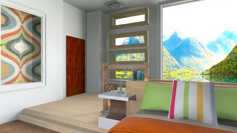 RBG - Country - Bedroom  - by pachecosilv