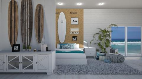 Surfer room - Bedroom  - by jbutler314159