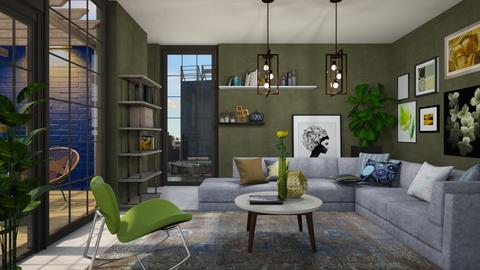 Max Livingroom - Living room - by KimAlys