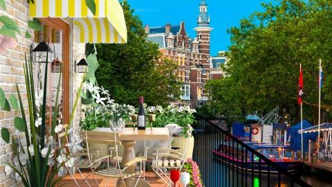 Design 139 Small Balcony Amsterdam - Garden  - by Daisy320