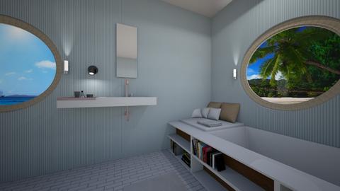 Nautical bathroom - by Chardesigner